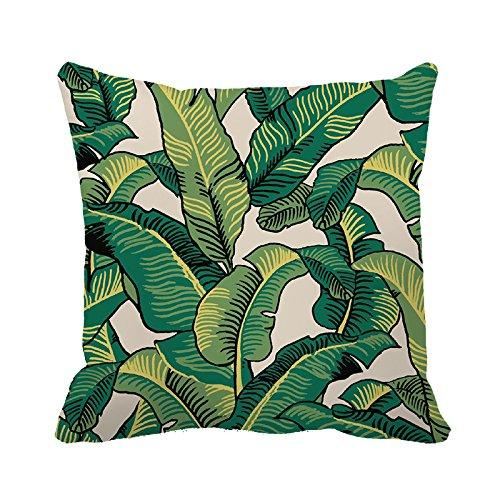 yinggouen-banana-leaves-decorate-for-a-sofa-pillow-cover-cushion-45x45cm