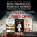 Southern Fried Crime: Notorious USA Set (Texas, Louisiana, Mississippi) (       UNABRIDGED) by Ron Franscell, Gregg Olsen, Rebecca Morris, Stephanie Cook Narrated by Kevin Pierce