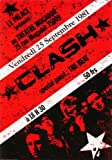The Clash - 25 September 1981 - Paris France Poster Approximate size 11.7
