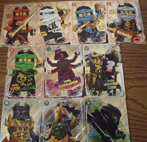 Lego Ninjago Trading Card Game Spezial Ultra Karten alle 10