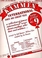 Kammen International Dance and Concert Folio…