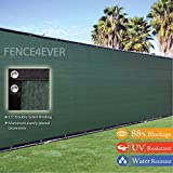 6' x 50' 3rd Gen Olive Green Fence Privacy Screen Windscreen Shade Fabric Mesh Tarp (Aluminum Grommets)