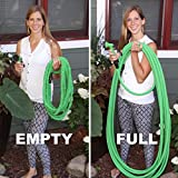 Quality Expandable Hose 75 Feet Green, No Kinking, Flexible, Lightweight, Super Strong, Superior to As Seen On TV Pocket Hose, Flex-Able Hose, Magic Hose, Shrinking Hose, DAP Xhose, Flexable Hose, Expands to 3 Times its Original Length, Water Garden, Plants, Grass, No Tangle, Twist, Kink, 7 In 1 Sprayer Head Attachment Included, Expands and Contracts