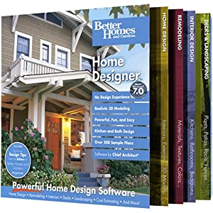 Better Homes And Gardens Home Designer 7 0 OLD VERSION Home Design Software