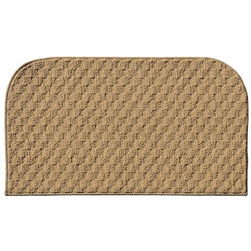 Garland Rug Town Square Kitchen Slice Rug, 18-Inch By 30-Inch, Tan front-473004