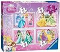 Ravensburger 4-in-1 Disney Princess Beautiful Puzzles
