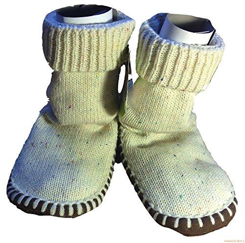 Circo Slipper Socks Boot Style (2-3T, Ivory/ Cream) front-802899