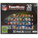 """The Party Animal Teeny Mates 1"""" NFL Collectible Figures Quarterback Gift Set"""