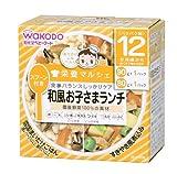 和光堂 栄養マルシェ 和風お子さまランチ (80g×1、90g×1)×3箱
