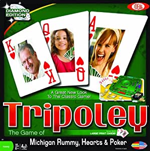 Ideal Tripoley Diamond Edition Card Game