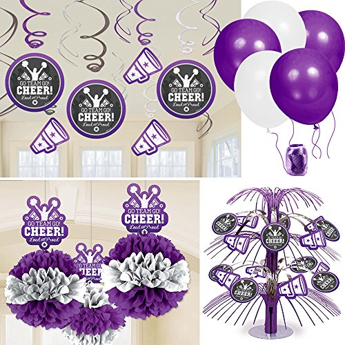 Cheerleading Spirit Decoration Kit (Cheerleader Party Supplies compare prices)