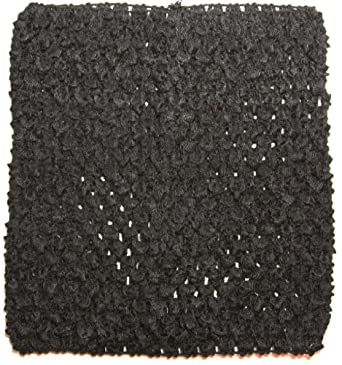 """Dress Up Dreams Boutique 6"""" Crochet Tutu Top Black One Size"""