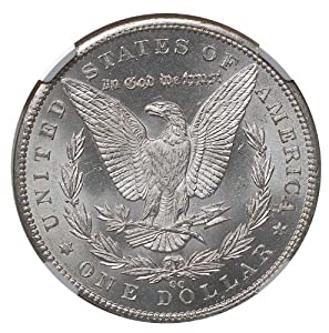 1893 CC Morgan Silver Dollar MS 65