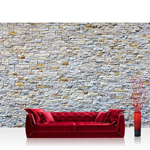 Vlies fototapete 350x245 cm top premium plus foto tapete wandbilder xxl wandbild bild - Wanddeko steinwand ...