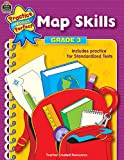 Map Skills, Grade 3 (Practice Makes Perfect Series)