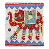 Rajrang Home Décor Patch Work Elephant Embroidered Wall Hanging Tapestry