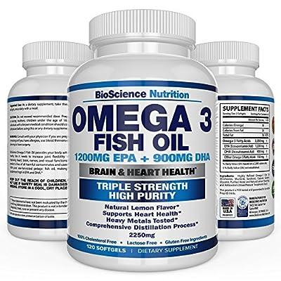 Omega 3 Fish Oil High Epa Dha