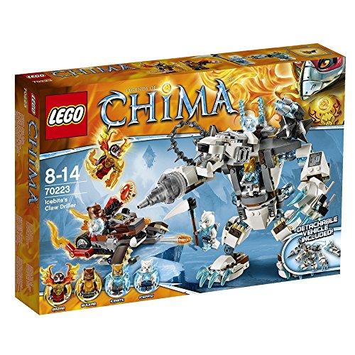 レゴ チーマ アイスバイトのクロードリラー 70223