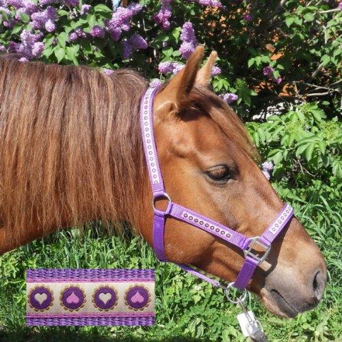 Speeda Halfter Purple Hearts
