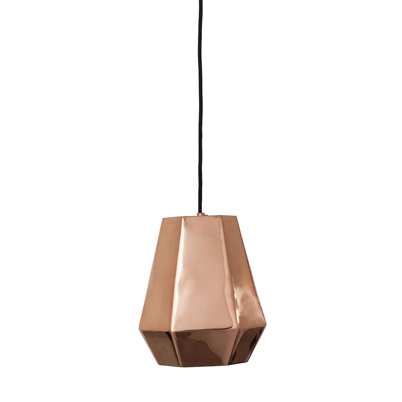 Bloomingville Hängelampe Pendant Lamp Pendelleuchte Kupfer mit 3 ...