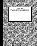 Unruled Composition Notebook: Requested by College Students the World over