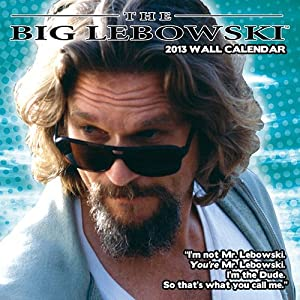 (12x12) The Big Lebowski 12-Month 2013 Wall Calendar
