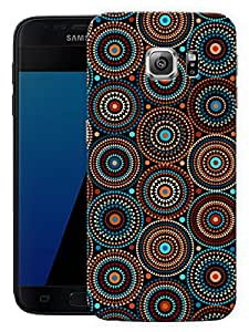 "Humor Gang Trippy Illusion Pattern Printed Designer Mobile Back Cover For ""Samsung Galaxy S7"" (3D, Matte, Premium Quality Snap On Case)"