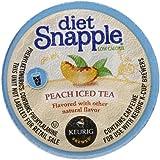 Snapple Diet Iced Tea, Peach, 22 Count