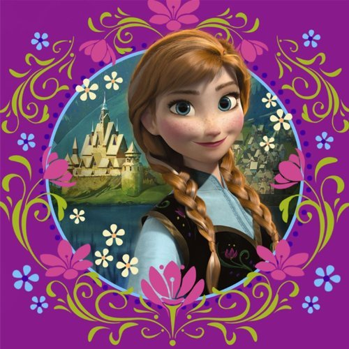 Disney Frozen - Purple Lunch Napkins (16)