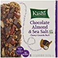 Kashi Chewy Granola Bars, Chocolate Almond and Sea Salt with Chia, 1.2 Ounce, 6 Count from Kashi