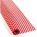 Red And White Checkered Banquet Roll