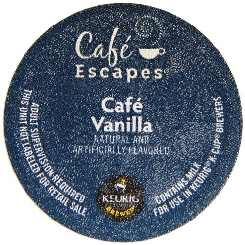 Keurig K Cups Cafe Escapes front-637575
