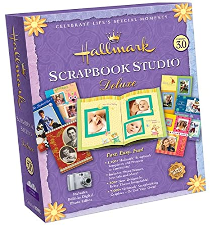 Hallmark Scrapbook Studio Deluxe 3.0