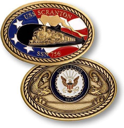 Northwest Territorial Mint Navy USS Scranton SSN-756 Challenge Coin