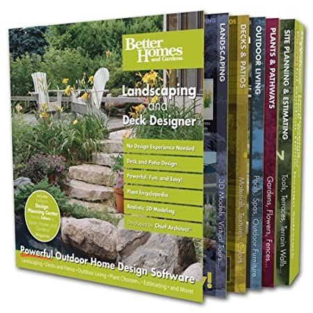 Better Homes and Gardens Landscaping and Deck Designer [OLD VERSION]