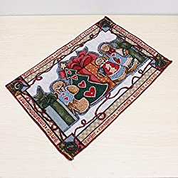Christmas Gift Cotton Placemat Table Mat Tablecloth