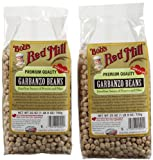 Bobs Red Mill Beans Garbanzo - 2 pk.