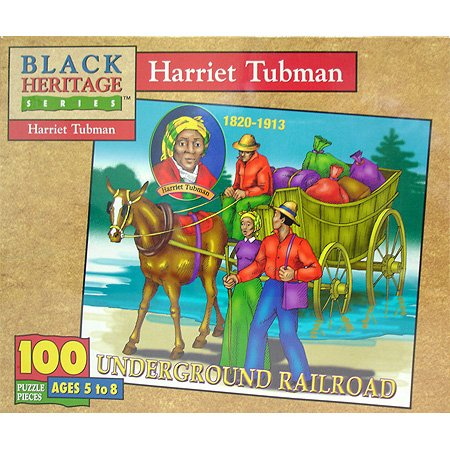Harriet Tubman Jigsaw Puzzle 100pc - 1