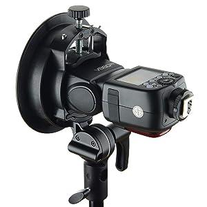 Godox 2pcs S2 Flash S-Type Bracket with Bowens Mount,Direction-Adjustable Handle,for Godox V1 AD200Pro etc Round Head Flash and AD400Pro AD200 V860II TT685 TT600 TT350 Series Speedlite