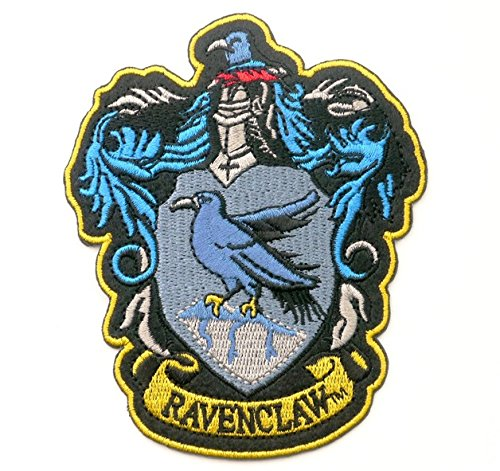 HARRY POTTER RAVENCLAW Embroidered Robe Iron On Patch 11.5 x 9.4 cm