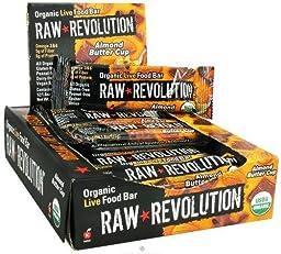 Raw Revolution - Organic Live Food Bar Almond Butter Cup - 1.8 oz.