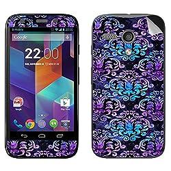 Theskinmantra Purple Midas Motorola Moto G mobile skin