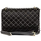 Da Milano Shoulder Bag (BLACK)
