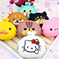 XDOBO Cute Silicone Coin Purse Wallet Rubber Cosmetic Bag Kids Girl Gift, Random Color from XDOBO