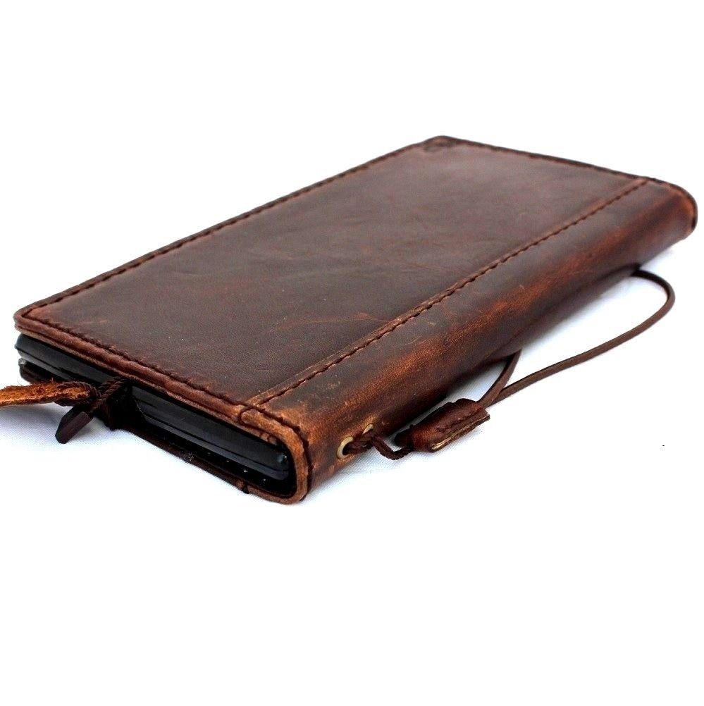 Genuine Italy Leather Case For Iphone 6 Plus Cover Book