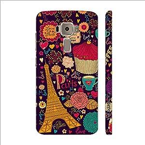Enthopia Designer Hardshell Case SWEET LOVE IN PARIS Back Cover for Asus Zenfone 3 ZE520KL