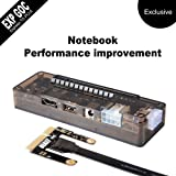XCSOURCE EXP GDC Laptop External Independent Video Card PCI-E Graphics Card for Beast Dock Expresscard AC773