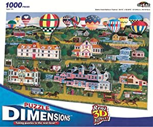 1000 pc Puzzle, Town Fair