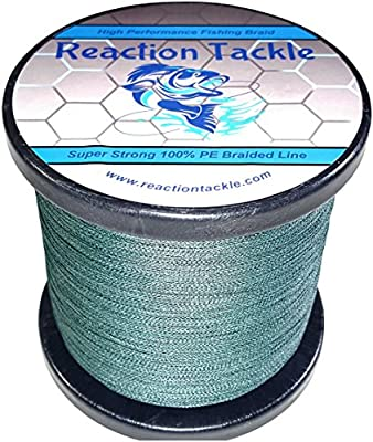 Reaction Tackle High Performance Braided Fishing Line from Reaction Tackle