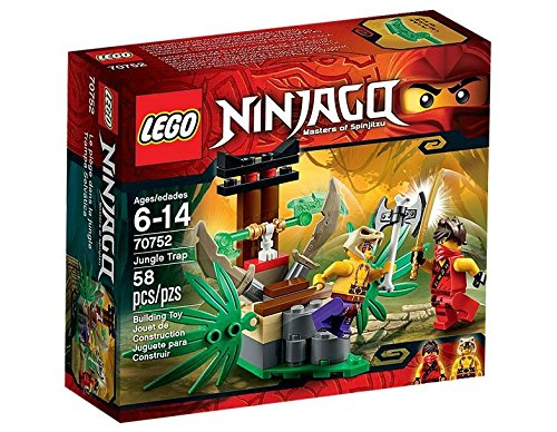 Lego Ninja Go Anakon Jungle trap 70752